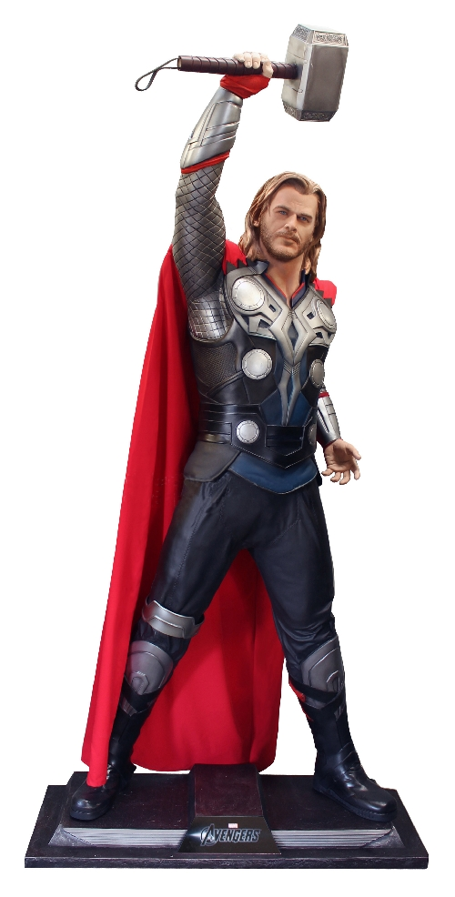 AVENGERS:  THOR without HELMET Movie Lifesize