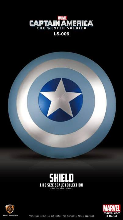 Captain America: The Winter Soldier Movie Shield (BLUE)