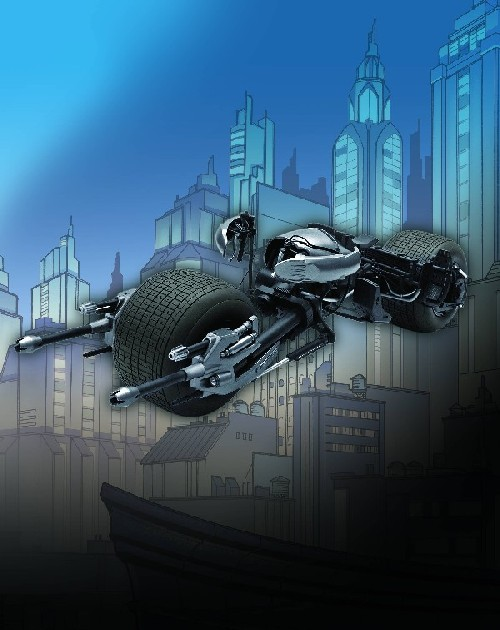 Batman Dark Knight: Batpod