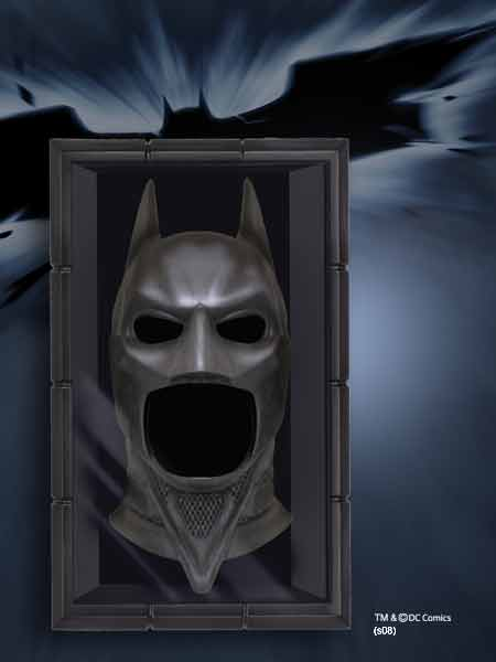 Batman Dark Knight: Cowl Face & Shadow Box