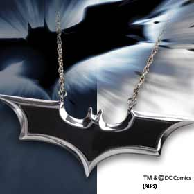 Batman Dark Knight: Enamel Emblem Pendant