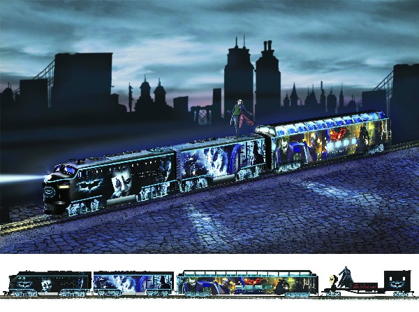 Batman: Dark Knight Electric Train (3-piece set)