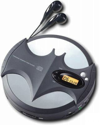 Batman Personal CD Player