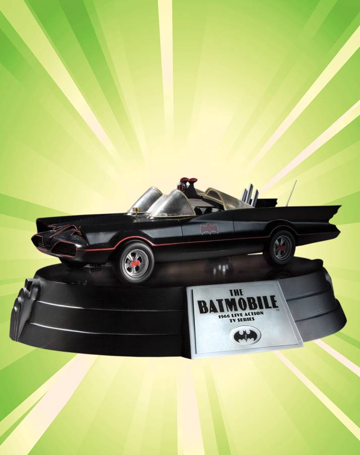 Batman's Batmobile: 1966 Live Action TV Series