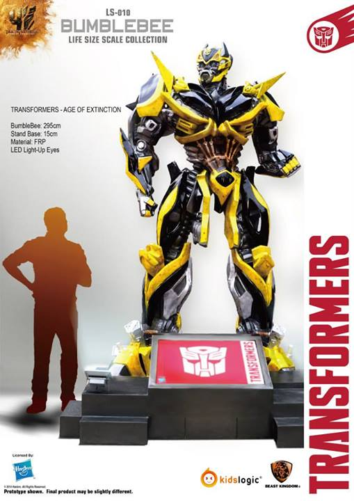 TRANSFORMERS: BUMBLEBEE Life-Size