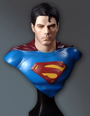 Superman Returns Bust
