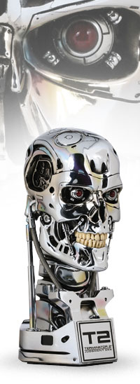 Terminator: T-800 Endoskeleton (Chrome Pristine Edition)