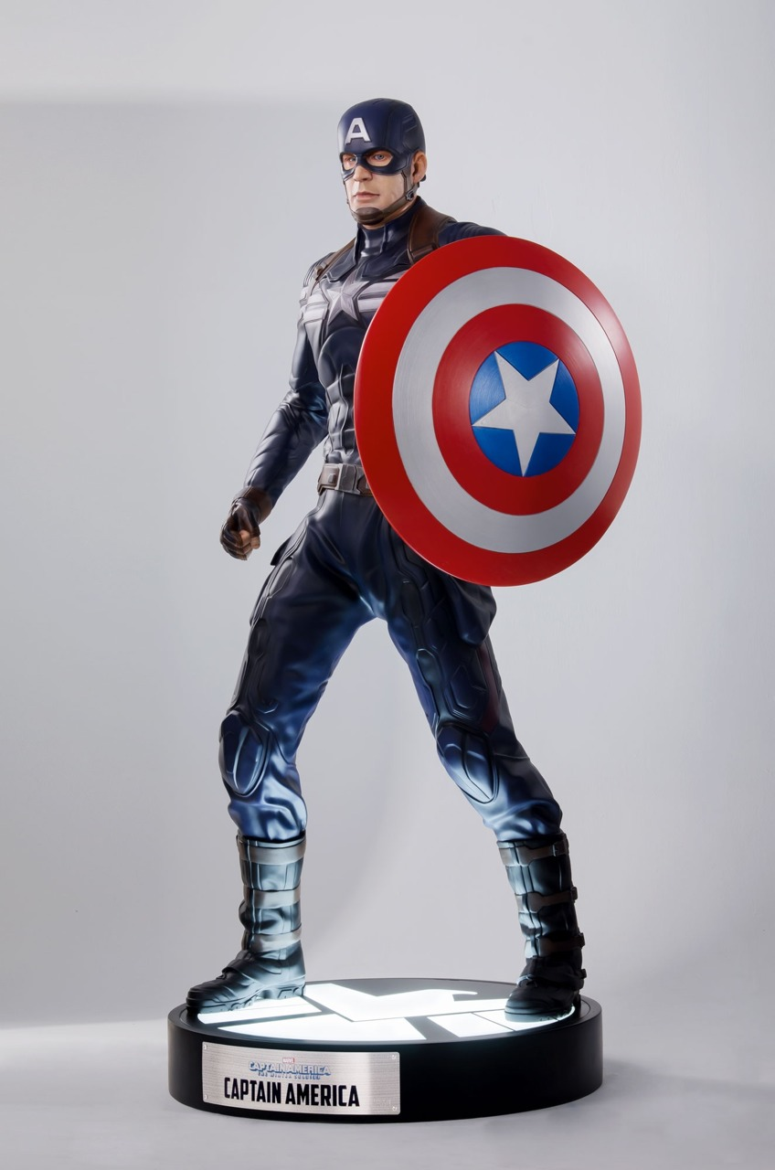 Captain America: The Winter Soldier (Museum Pose)