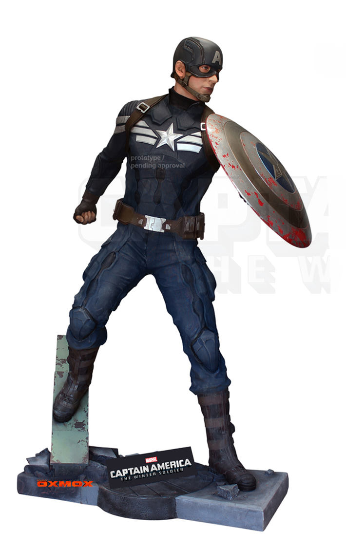 Captain America: The Winter Soldier (Action Pose)