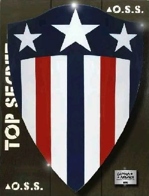Captain America 1941 Shield