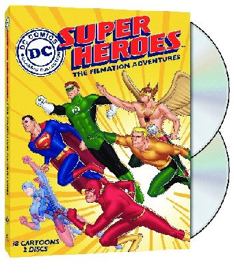 DC SUPER HEROES FILMATION ADV DVD (Animated TV Series)