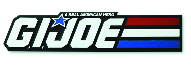 GI JOE Logo Wall Plaque