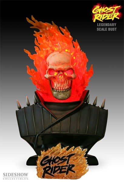 Legendary Bust: Ghost Rider Exclusive