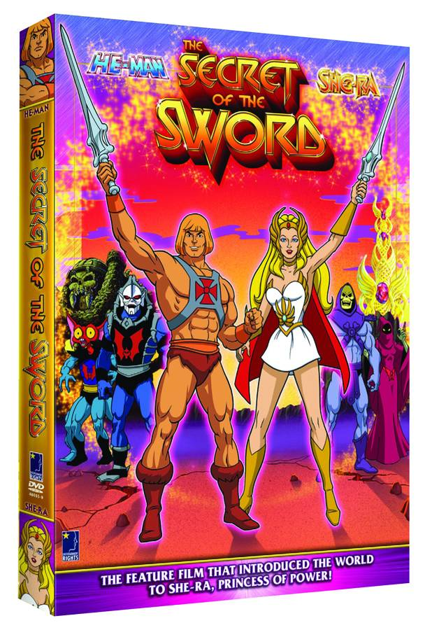 He-Man & She-Ra DVD (Animated Movie)