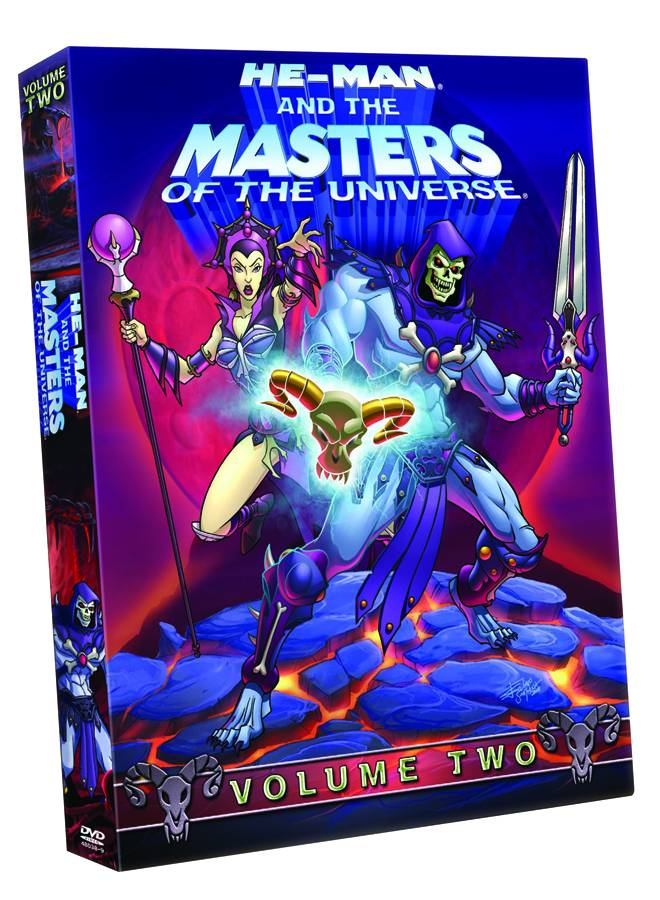 He-man and the Masters of the Universe DVD (vol.2) (Animated Movie)