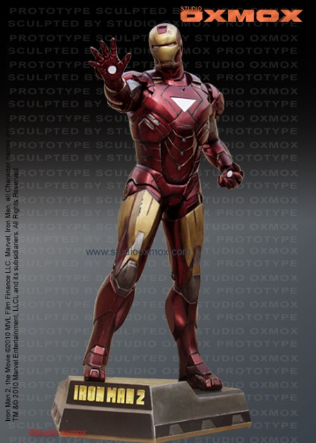 Iron Man 2 Movie Life-Size (Battle Damaged)