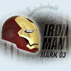 Iron Man Movie Helmet: Mark 3