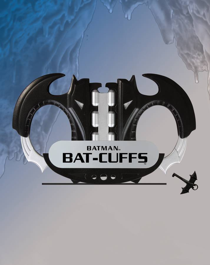 JLA Trophy Room: Batman Bat Cuffs