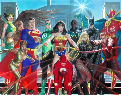 JLA: Where Justice Resides (CANVAS)