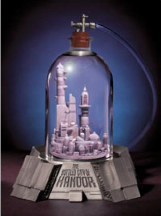 Superman Bottle City of Kandor