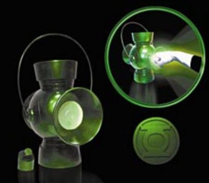 Green Lantern Hal Jordan Power Battery