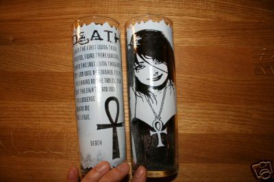 Sandman \'Death Prayer Candle\'