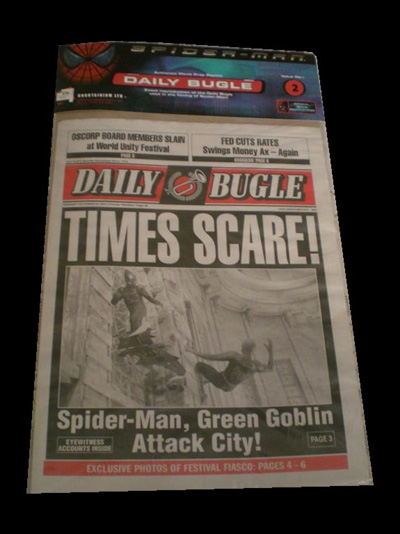 Spiderman: Daily Bugle Newspaper (Spiderman 1) #2