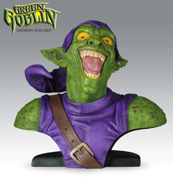 Legendary Bust: Green Goblin