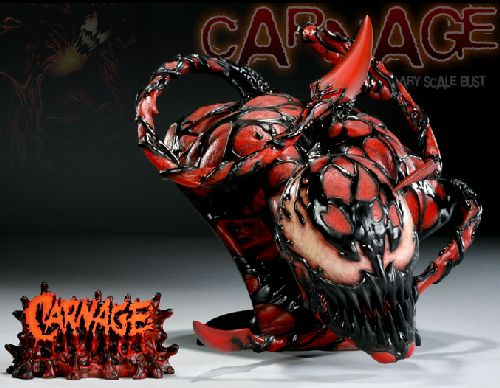 Legendary Bust: Carnage Exclusive
