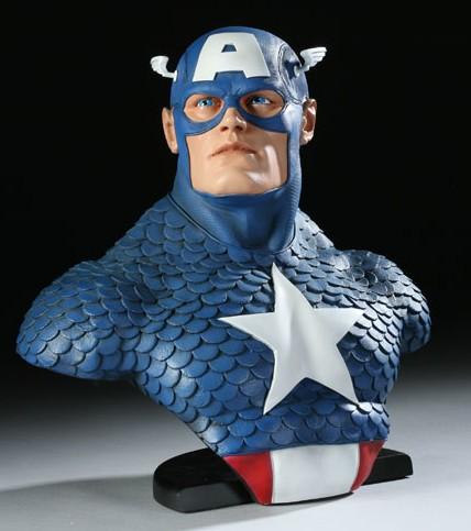 Legendary Bust: Captain America