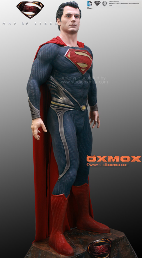 SUPERMAN: MAN OF STEEL Movie Life-Size