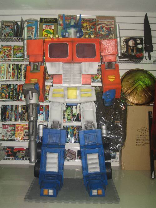 Transformers: Optimus Prime Lifesize