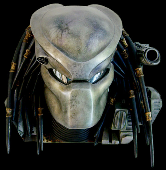 Predator Bio Helmet with Trophy wall Mount Display