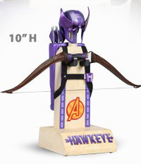 Archive Set: Hawkeye Mask, Bow, & Arrows
