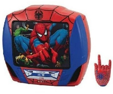 "Spiderman: 13"" Color TV/DVD Combo"