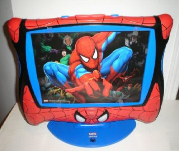"SPIDERMAN 15"" Color LCD TV"