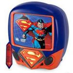 "SUPERMAN 13"" Color TV/DVD Combo"