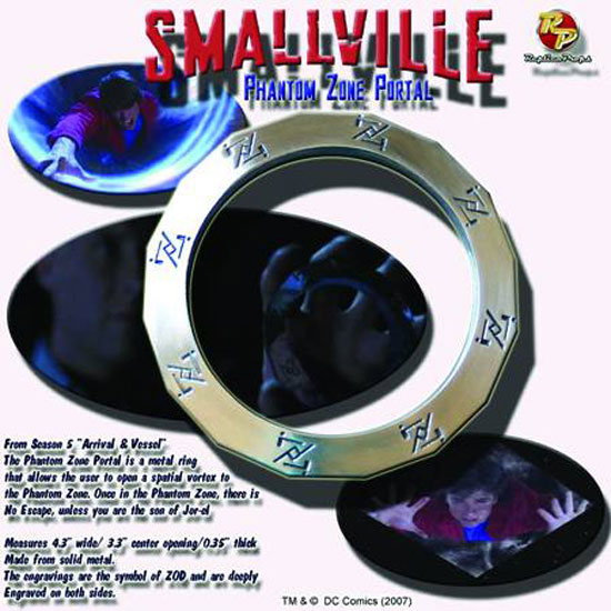 Smallville Phantom Zone Portal Bracelet