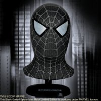 Spiderman Movie Black-Suited Mask
