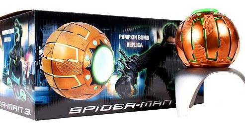 Spiderman 3: Green Goblin Pumpkin Bomb