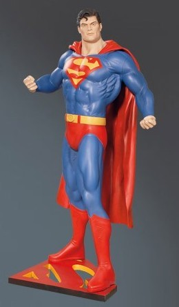 Superman Classic Comic Lifesize
