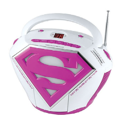 Supergirl CD Boombox