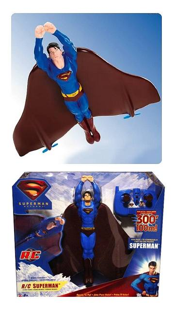 Superman Returns Flying RC Remote Control Figure