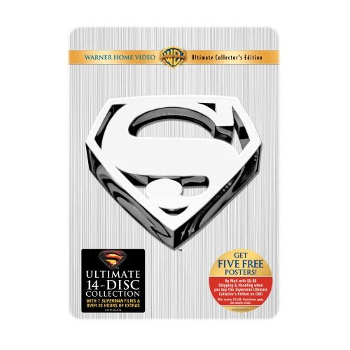 Superman Ultimate Collector\'s Edition DVD box set (Movie)
