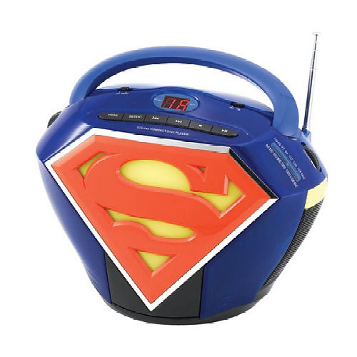 six flags magic mountain superman escape from krypton. Superman CD Boombox