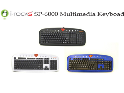 Superman Multimedia keyboards