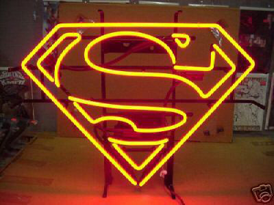 Superman NEON Sign-Officially Licensed