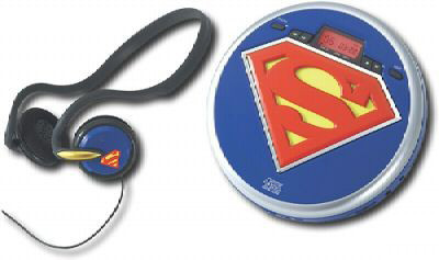 Superman Personal CD Player