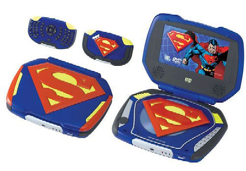 "Superman Portable 7\"" DVD Player - PlanetKrypton.net"