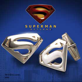 Superman Returns Cufflinks